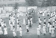 昭和39年納涼盆踊り